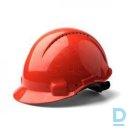 Protective helmet plastic (red)