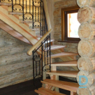 Latgales galdnieks, Manufacture of stairs and handrails