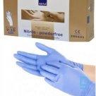 Gloves ABENA, Nitrile, size XL, without powder, Blue