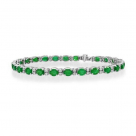 Smaragdu & Dimantu rokassprādze
