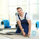 Offer Dry cleaning of carpets