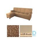 Microfibra auduma pārvalks labā stūra dīvānam