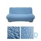Bielastico auduma pārvalks 3-vietīgajam dīvānam bez elkoņu balstiem.