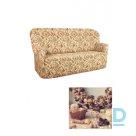 Bielastico kolekcijas auduma pārvalks 3-vietīgajam dīvānam | Arricciato Flora V543