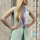Pārdod Sieviešu Mint krāsas veste, Rinascimeto