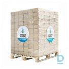 BIOWOOD NATURAL BRIKETES, Palete ar 10KG maisiem