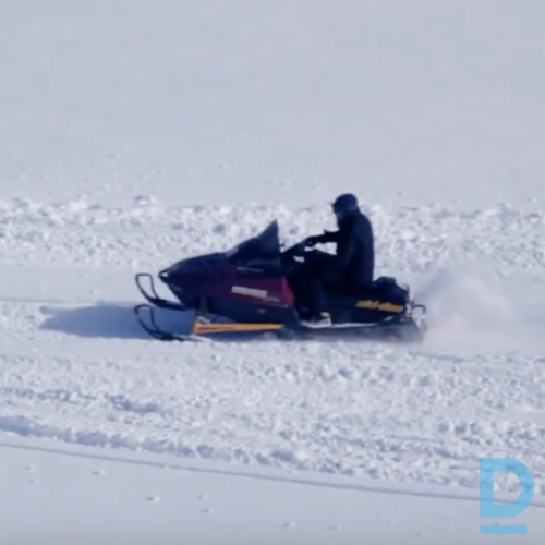 Piedāvā Sniega motociklu īre